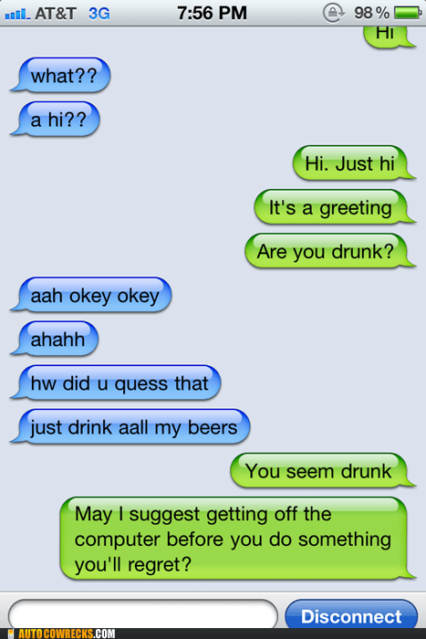 drunk drunk text quess