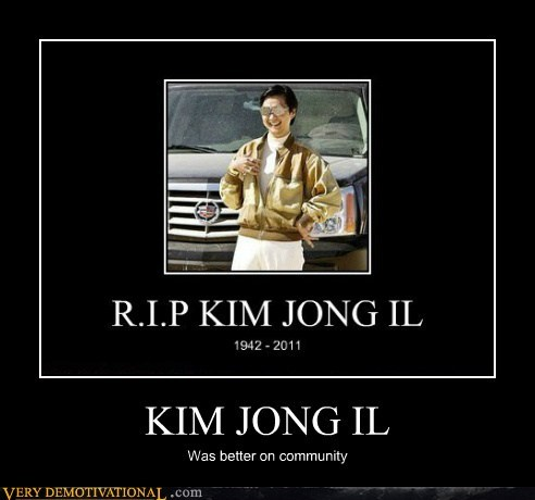 community,hilarious,Kim Jong-Il,trolls,TV