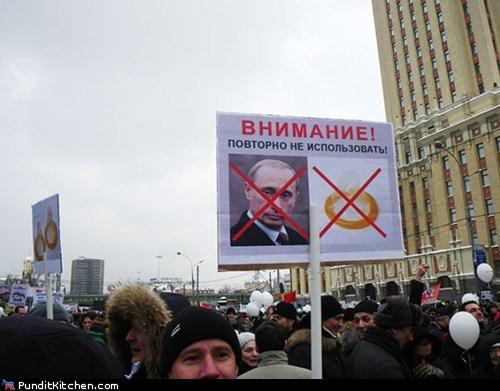 political pictures Protest russia Vladimir Putin - 5617459968