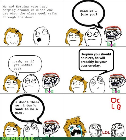 boss fu gal owned pimp Rage Comics - 5617665280