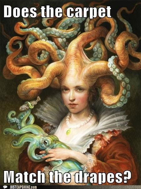 capet,caption contest,drapes,mother,mother of the sea,squid,tentacles,winner