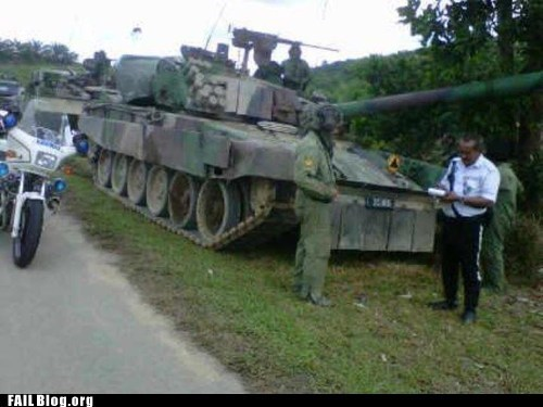 army cops driving fail nation g rated police tank - 5617763328
