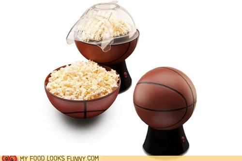 basketball novelty Popcorn popper sports