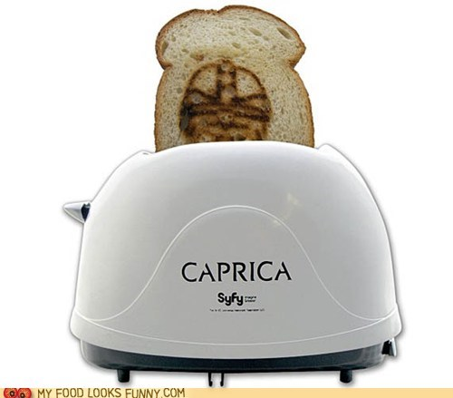 Battlestar Galactica BSG Caprica cylon gadget syfy toaster - 5617783808