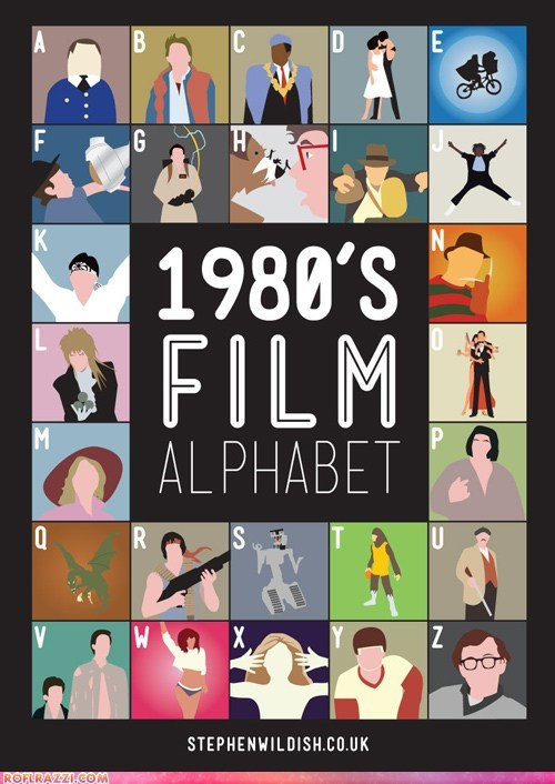 80s art film funny Hall of Fame illustration movies - 5617879040
