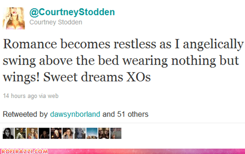 celeb Courtney Stodden funny tweet twitter - 5617907712