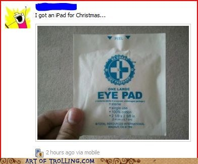eye pad facebook ipad present - 5618236672