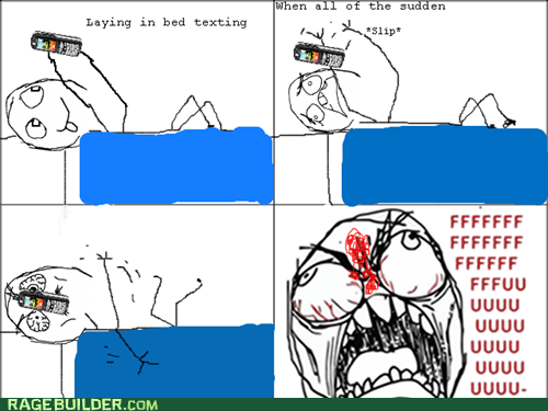 drop,face,pain,phone,Rage Comics
