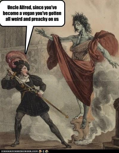 art go away historic lols no thanks painting preachy vegan - 5618438400
