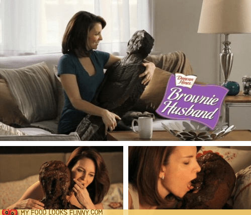 brownie chocolate husband love make out man tina fey