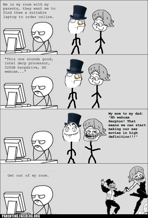 get out of my room later Rage Comics