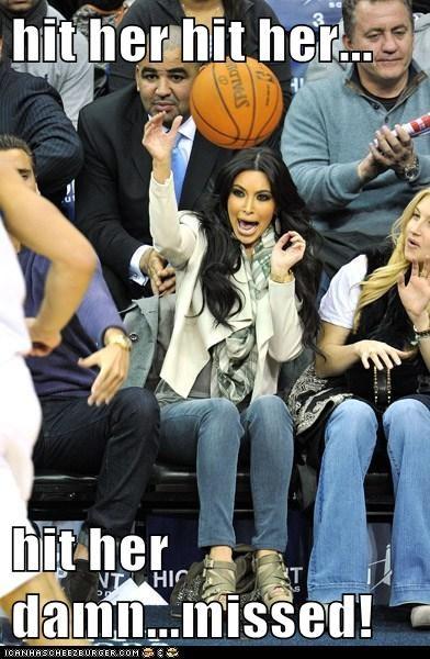 basketball hit her kim kardashian roflrazzi uggh - 5618524928