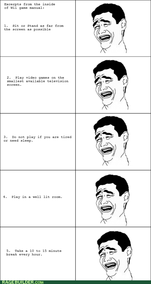 Rage Comics video games wii yao ming - 5618766080