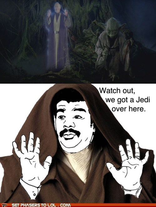 Alec Guinness,funny,meme,Movie,Neil deGrasse Tyson,star wars