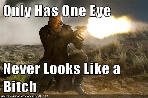 avengers Nick Fury pulp fiction Samuel L Jackson Super-Lols - 5619127296