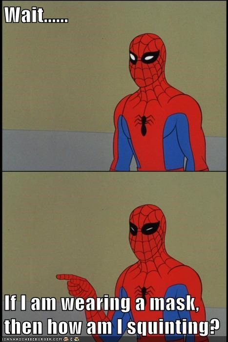 eyes magic man mask spider Super-Lols wtf - 5619263744