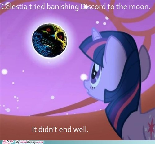 banished,best of week,crossover,discord,majoras mask,three days,twilight sparkle