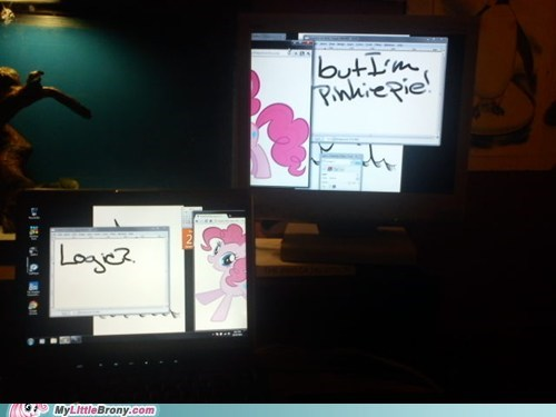 4th wall IRL logic meme pinkie pie - 5619715328