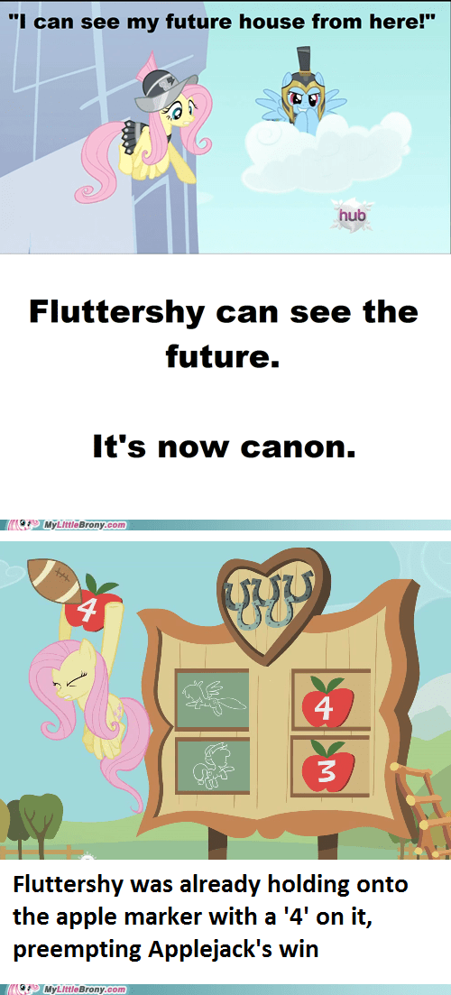 canon fluttershy foresight ponies Reframe - 5620083712
