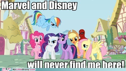 best of week disney equestria marvel meme Spider-Man - 5620132096