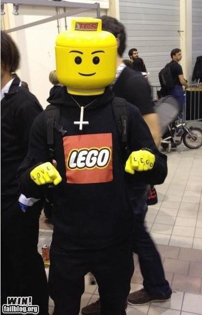 cosplay costume justice lego nerdgasm - 5620332544