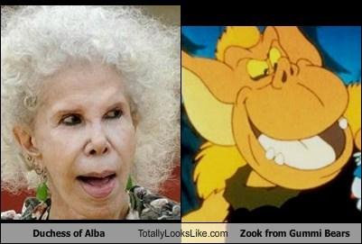 duchess of alba,funny,gummi bears,TLL,zook