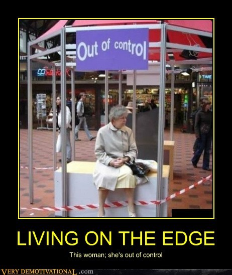 control edge hilarious living old lady