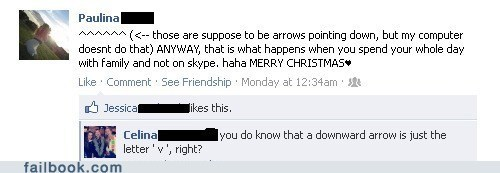 arrows christmas facepalm really