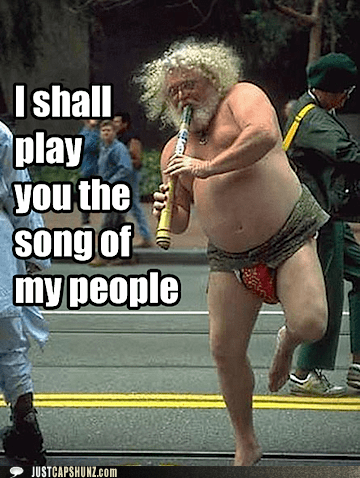 guy,let me play you the song of my people,Music,random person,the song of my people