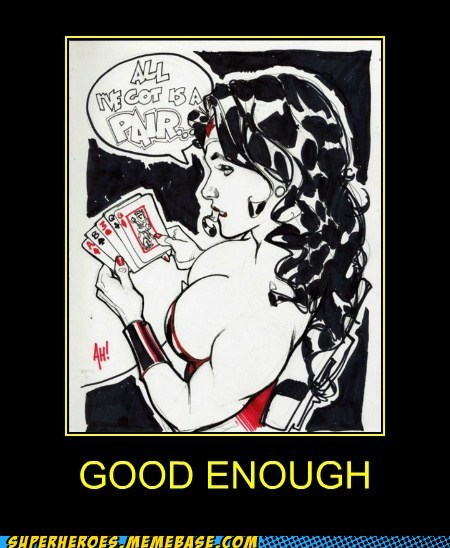 bewbs cards pair Super-Lols wonder woman - 5621061120