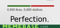 dislikes even likes Memes youtube - 5621090560