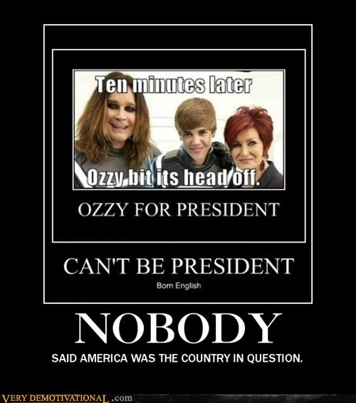 Ozzy to President [fixed]