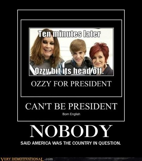 america hilarious justin bieber nobody ozzy osborne - 5621376000