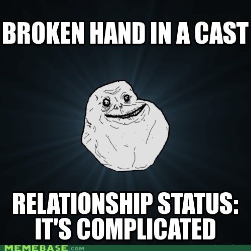 cast,forever alone,relationship,Sad