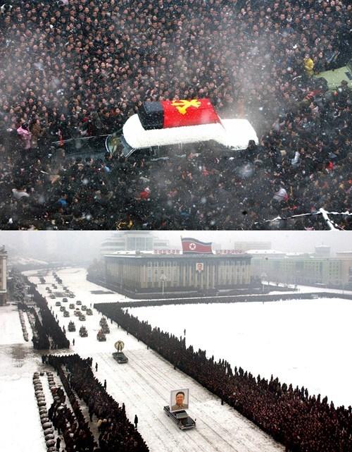 Dead Leader Kim Jong-Il North Korea