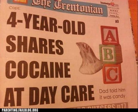 daycare,drugs,Parenting Fail,Party,Public Parenting News,toddler