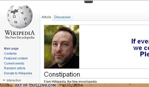 constipation,that face,wiki appeal,wikipedia