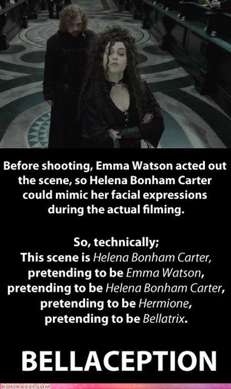 actor celeb funny Harry Potter helena bonham-carter rupert grint - 5621726976