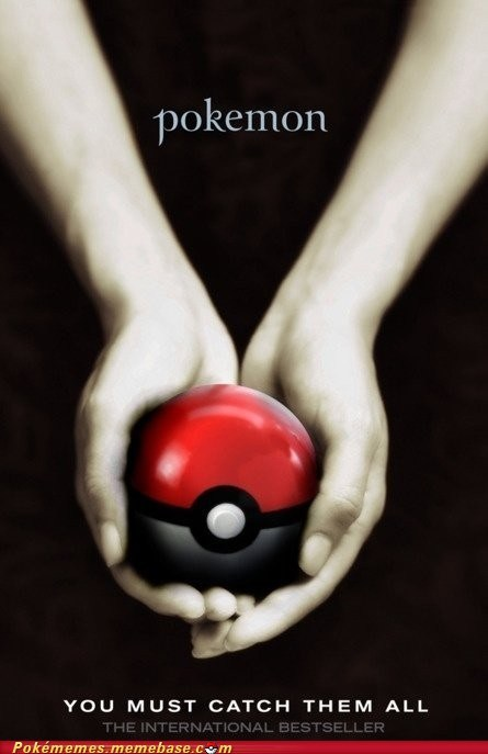 best of week,book,catch em all,crossover,poke ball,Pokébooks,twilight