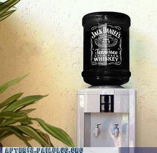 booze cooler drinking jack daniels Office whiskey - 5622385408