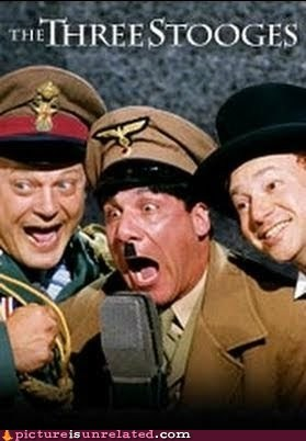 hitler Movie nazi nein three stooges wtf - 5622655232