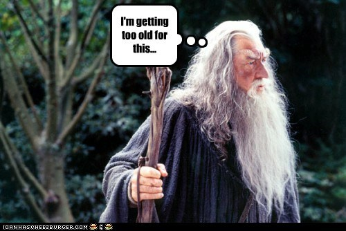 gandalf,getting,ian mckellan,st,The Hobbit,too old,wizard