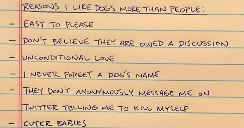 dogs love daily funny notes notes - 5623301