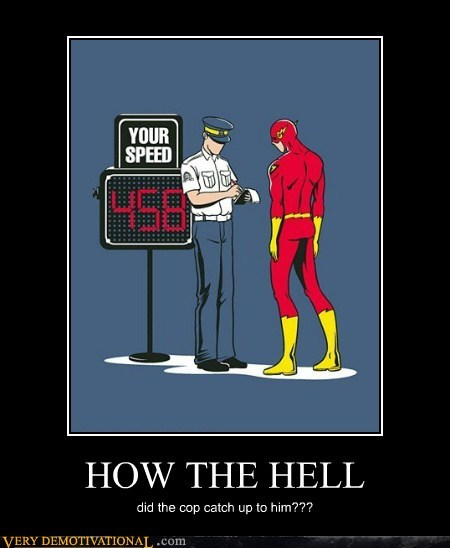 cop,flash,hilarious,speed trap,ticket