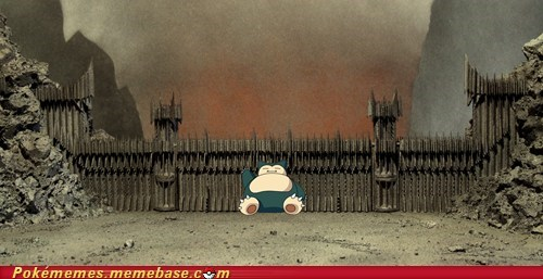 ash best of week meme Memes mordor snorlax - 5624071168