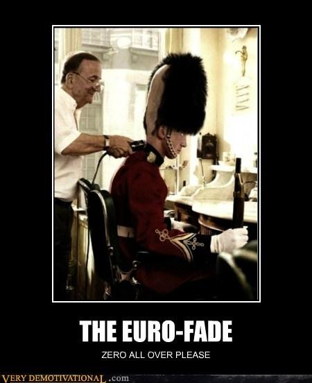 euro fade haircut hilarious palace guard - 5624197632