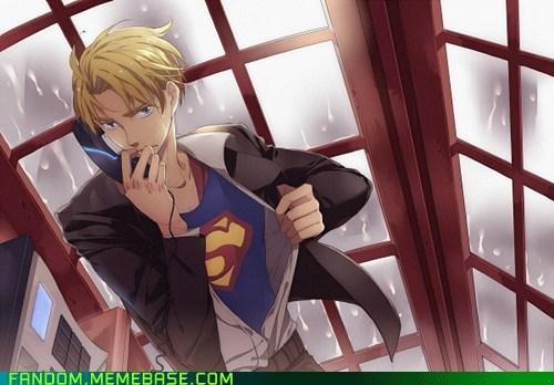 america axis powers Fan Art hetalia superman - 5624560896