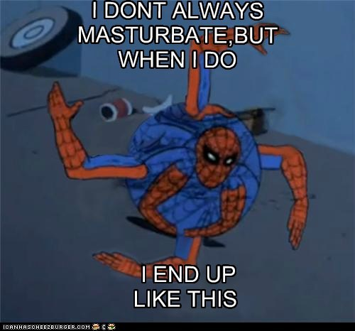 crazy arms,fapping,Spider-Man,Super-Lols,wtf