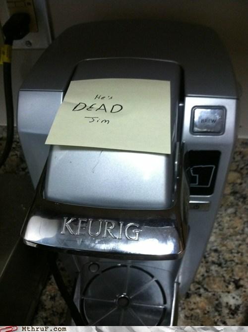 coffee machine g rated M thru F Office Star Trek work - 5624776704