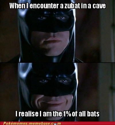 batman Memes shiny pokemon The 1 Percent zubat - 5624836096